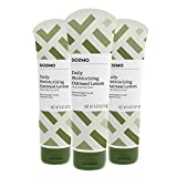 Amazon Brand - Solimo Hypoallergenic Daily Moisturizing Lotion with Colloidal Oatmeal, 8 Ounce (Pack of 3)
