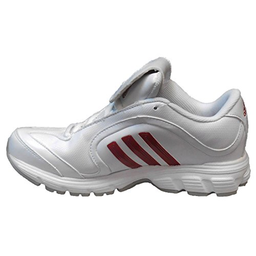 adidas Womens SM Excelsior 6 Training Running Shoes Running White/Unired/Metallic Silver AaNnx