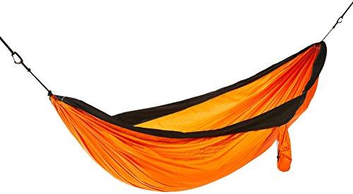 AmazonBasics Lightweight Double Camping Hammock, Orange/Black by AmazonBasics