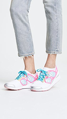 PUMA Women's x SOPHIA WEBSTER Cage Sneakers, White Multi, 9
