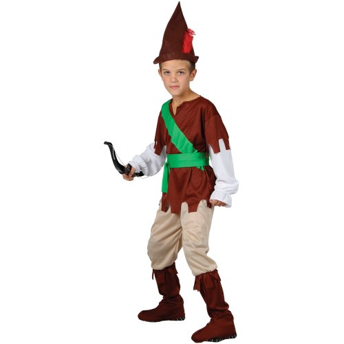 Children's Boys Lge. Robin Hood Outfit for Medieval Middle Ages Fancy Dress (Middle Ages Costumes)