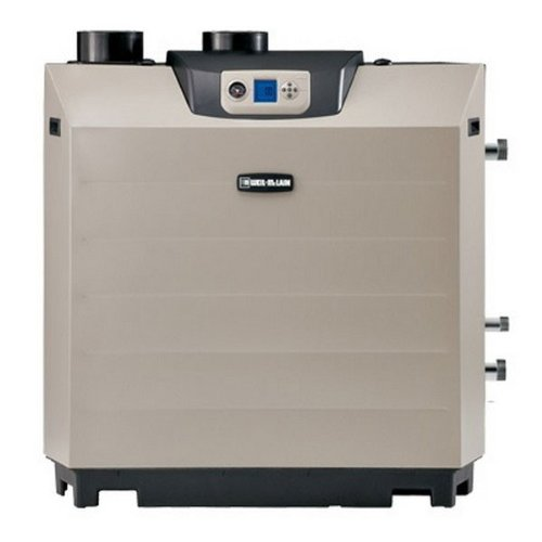 Boiler High Efficiency Gas - Weil Mclain 383-600-010 Ultra - 750,000 BTU Natural Gas Hot Water Boiler With High Efficiency And Direct Vented Up to 5,500 ft