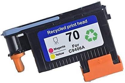 caidi Cabezal de impresión para HP remanufacturée 70 C9404 a C9405 a C9406 a C9407 a c9408 a c9409 a Compatible para Impresora HP Designjet Z2100 Z5200 Z3200 Z3100: Amazon.es: Informática