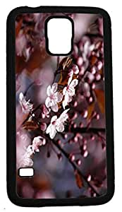 Blueberry Design Galaxy S5 Case purple Leaves - Ideal Gift