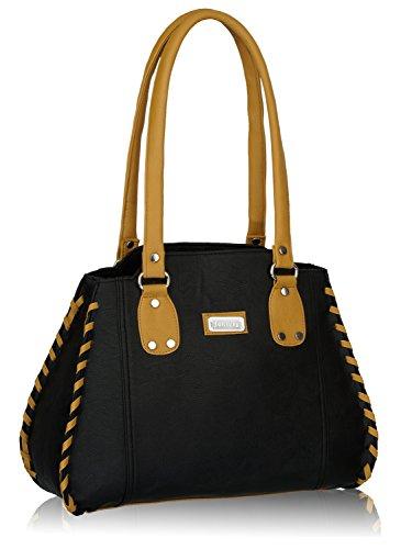 Fantosy Womens Handbag Black FNB216