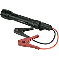 Scosche PBJF400 PowerUp 400 Torch Portable 1,000 Lumen Flashlight and Car Jump Starter with 5,100 mAh 400A Portable Battery with USB Port for use in 4 and 6-Cylinder Vehicles or Motorcycles