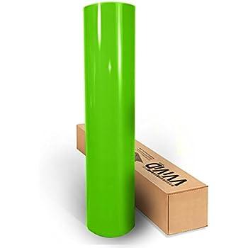VVIVID8 green chrome satin matte car wrap vinyl 10ft x 5ft conform stretch 3MIL