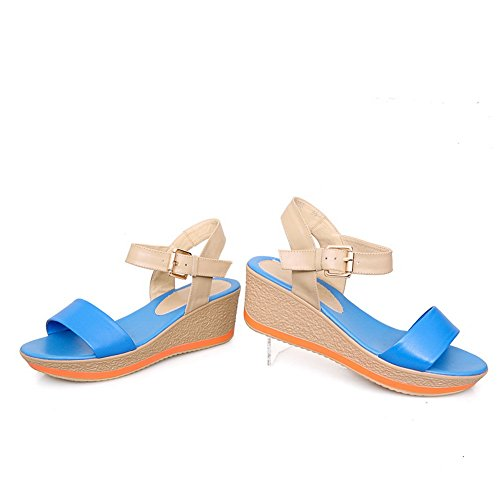 1TO9 Sandalias de Vestir Para Mujer Azul