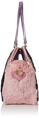 16x30x32 cm A What Irregular main x L Rose portés femme Choice H Sacs black Hoot Pink W qP7pE7