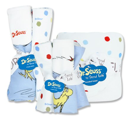 Dr. Seuss Bouquet Bath and Burp Set