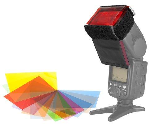 12 x Farbfolien Filter Set mit Halterung zu: Amazon.de: Elektronik