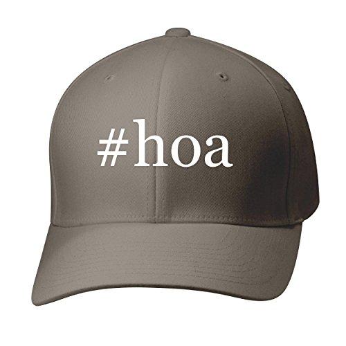 BH Cool Designs #hoa - Baseball Hat Cap Adult, Dark Grey, Large/X-Large
