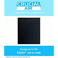 Idylis B Carbon Filter, Compared to Part # IAF-H-100B, 302656, Designed & Engineered By Crucial Vacuum