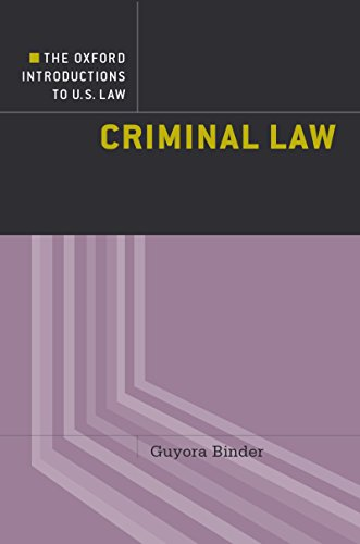 Criminal Law (Oxford Introductions to U.S. Law)