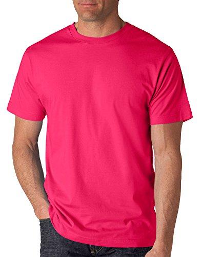 Anvil Short Sleeve T-shirt - Anvil Adult Lightweight T-Shirt, Hot Pink, Large
