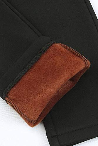Tinta Ufficio Casual Elastico Taglie Forti Donna Pantalone Stile Unita Vita Pantaloni Alta Kindoyo A 5 Lavoro Inverno Giornaliero YqwOvF