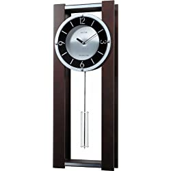Rhythm Clocks Espresso II Wooden Musical Mantel Clock