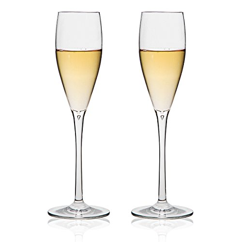 Michley Unbreakable Champagne Flutes Glasses 100 Tritan