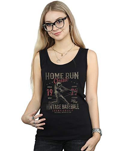 Negro Mangas Mujer Camiseta Home Run Sin Drewbacca Y67CqPxU