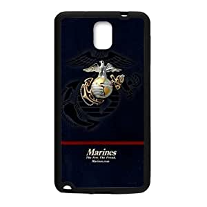 Marine Corps Metal Pattern Anchor Samsung Galaxy note 3 Case Cover (Laser Technology)