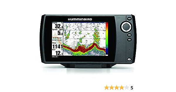 Humminbird 409950-1 Helix 9 SI 480x800 Sonar with Dual Beam GPS 9