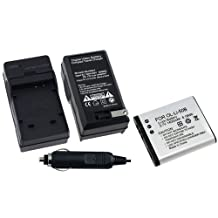 Everydaysource BATTERY LI-50B + CHARGER LI-50C Compatible With OLYMPUS CAMERA