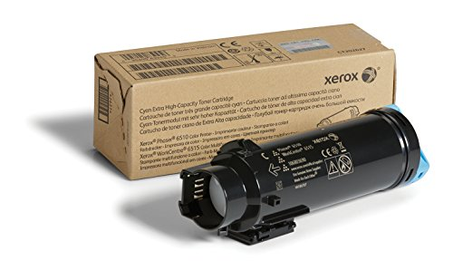 Xerox Phaser 6510/Workcentre 6515 Cyan Extra High Capacity Toner Cartridge (4,300 Pages) - 106R03690