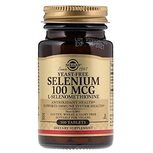 Solgar – Yeast-Free Selenium 100 mcg, 100 Tablets