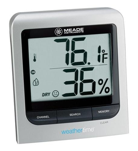 Meade Wireless Indoor/Outdoor Thermometer Computers, Elec...