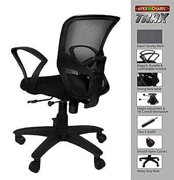 APEX Chairs™ TRAX Medium Back Office Chair
