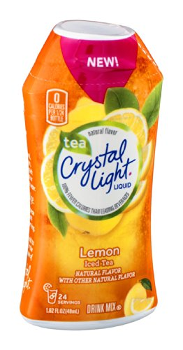 Crystal Light Liquid Lemon Iced Tea 1.62 FZ (Pack of 24) by Crystal Light