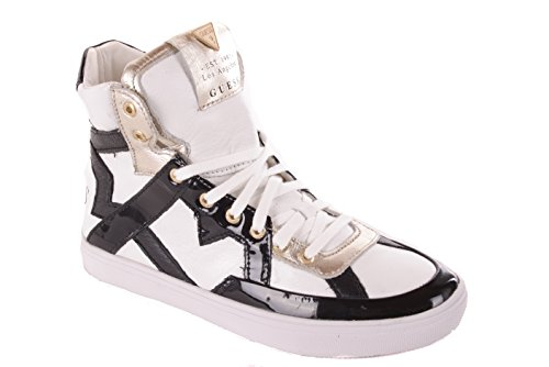 Bianco Guess Boots Donna Nero Sneaker wnqRqfxB