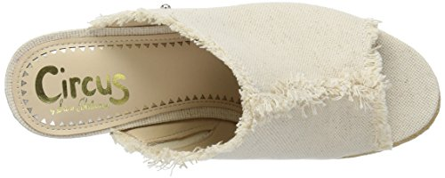 by Women's Sam Sandal Baker Circus Ivory Wedge Edelman Uqawxd1