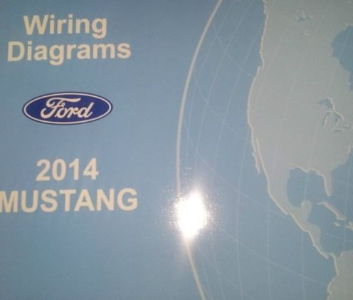 2014 ford mustang wiring electrical diagram manual oem new ewd 2014 ford  paperback – 2014