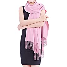 "Cashmere Scarf for Women and Men - Super Soft and Warm 23""x 82"" Winter Wool Wrap Shawl"