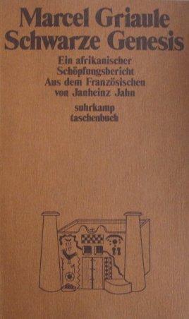 Suhrkamp Taschenbuch, Nr. 624: Schwarze Genesis - Ein afrikanischer Schöpfungsbericht