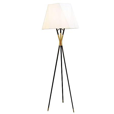 Lámparas de pie Iluminación de Interior Lámparas Lámpara De Pie De Dormitorio De Estilo Japonés, Lámpara De Pie LED Ajustable De Hierro Triangular Lámparas de pie (Color : White): Amazon.es: Hogar