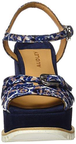 Blu Azul Con Sandali 19595 blue Plateau Donna Audley XExC8q0wP