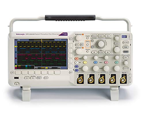 Tektronix DPO2024B Digital Phosphor Oscilloscope, 200 MHz, 1 GS/s Sample Rate, 1 Length, 4 Analog Channels, 5 Year - Oscilloscope Analog Digital
