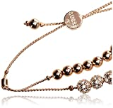 GUESS Rose Gold Bracelet with Stones