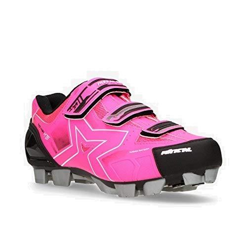 MITICAL Zapatillas Ciclismo Rosas (Talla: 36): Amazon.es: Zapatos y complementos