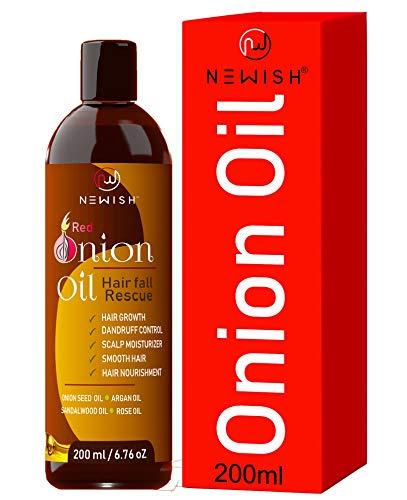 Newish® Red Onion Hair Oil for Hair Growth 200ml
