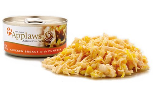 Applaws Chicken Breast and Pumpkin, 24 - 2.47-Ounce Cans for