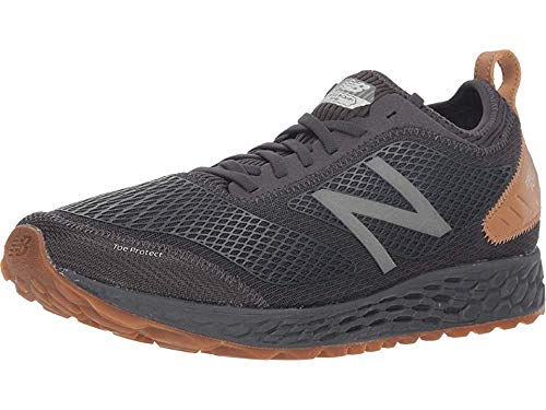 New Balance Men's Gobi V3 Fresh Foam Trail Running Shoe, Phantom/Magnet/Gum, 7.5 D US (Best Shoes For Running On Pavement 2019)
