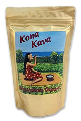 Kona Kava Farms Premium Noble Kava Kava Root Powder | Powdered Kava Root Supplement for Sleep Support, Relaxation, Stress and Anxiety Relief | Natural Kava Kava Root Drink
