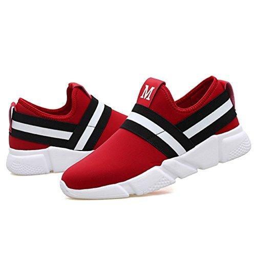 Rojo bajo botas Unisex LFEU adulto caño de wFCq0Y1