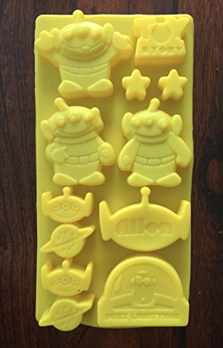 - DISNEY TOY STORY BUZZ LIGHTYEAR PARTY SILICONE ICE TRAY CANDY CHOCOLATE MOLD