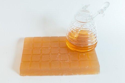 Honey Glycerin Soap Base- 2lb - Shaped Soap Glycerine
