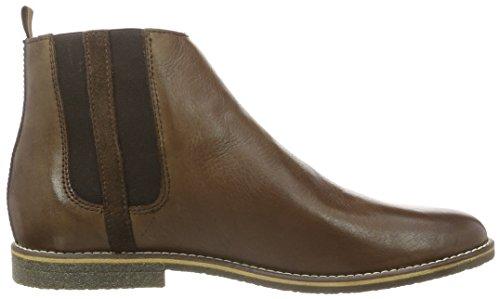 Bianco Chelsea W/Stripe Jja15, Zapatillas de Estar por Casa para Hombre Marrón - Braun (22/Mid Brown)