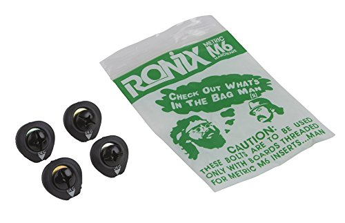 Ronix Phillips M6 Mounting Hardware Set Of 4 Black Oxide